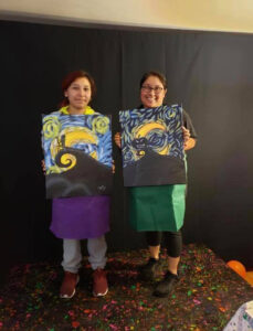 Felicia's private christmas paint party