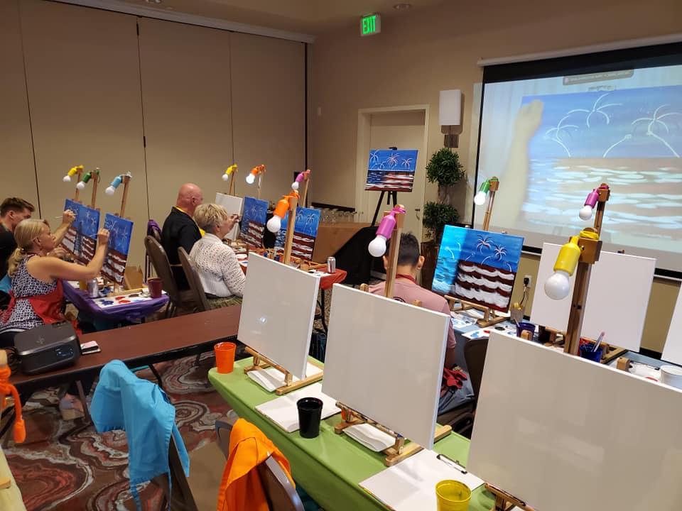 Live Virtual Paint Party